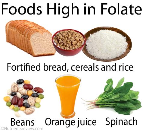 folate foods 1